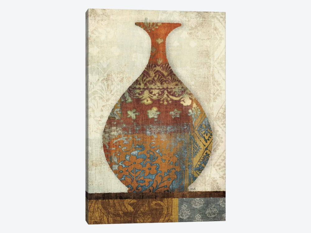 Indian Vessels II by Moira Hershey 1-piece Canvas Art
