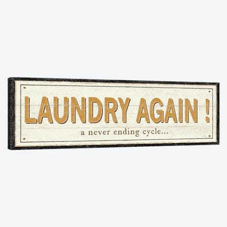 Laundry Again! Canvas Print #WAC1029} by Pela Studio Canvas Art Print