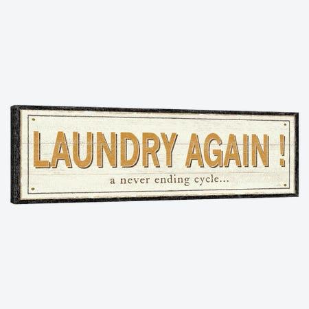 Laundry Again! Canvas Print #WAC1029} by Pela Studio Canvas Art Print
