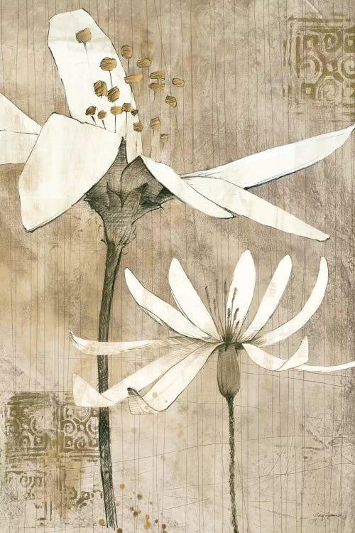 Pencil Floral Ii Canvas Artwork By Avery Tillmon Icanvas
