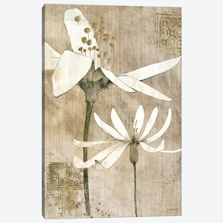 Pencil Floral II  Canvas Print #WAC102} by Avery Tillmon Canvas Art Print