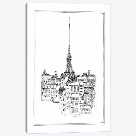 Eiffel Tower Canvas Print #WAC103} by Avery Tillmon Canvas Print