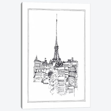Eiffel Tower Canvas Print #WAC103} by Avery Tillmon Canvas Print