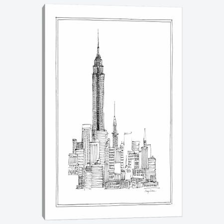 Empire State Canvas Print #WAC104} by Avery Tillmon Canvas Artwork