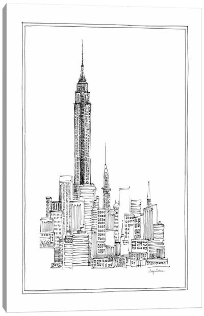 Empire State Canvas Print #WAC104