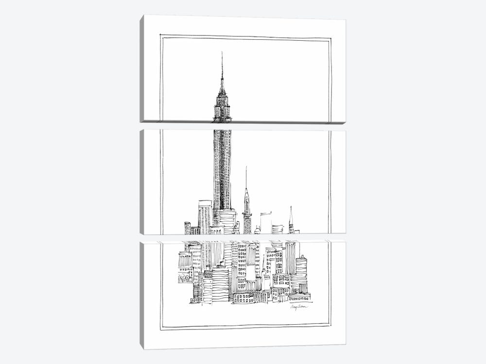 Empire State by Avery Tillmon 3-piece Canvas Print