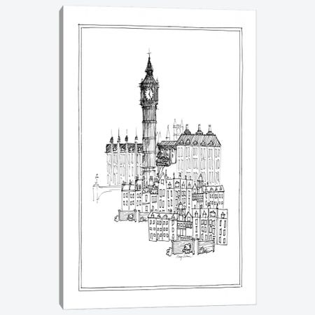 Big Ben Canvas Print #WAC106} by Avery Tillmon Canvas Artwork