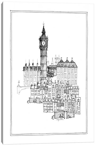 Big Ben Canvas Print #WAC106