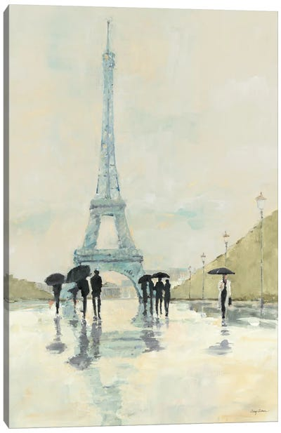 April in Paris Canvas Art Print