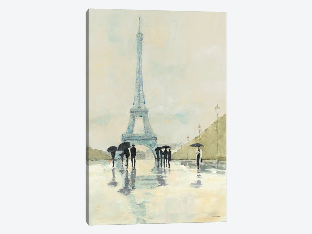 April in Paris by Avery Tillmon 1-piece Canvas Art