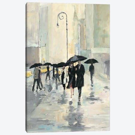 City in the Rain Canvas Print #WAC108} by Avery Tillmon Canvas Art Print