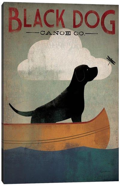 Black Dog Canoe Co. I Canvas Art Print