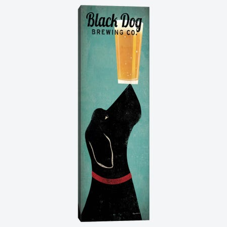 Black Dog Brewing Co. Canvas Print #WAC1117} by Ryan Fowler Canvas Art