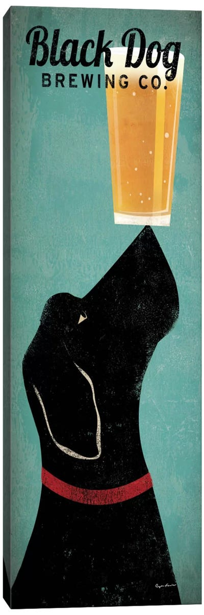 Black Dog Brewing Co. Canvas Art Print