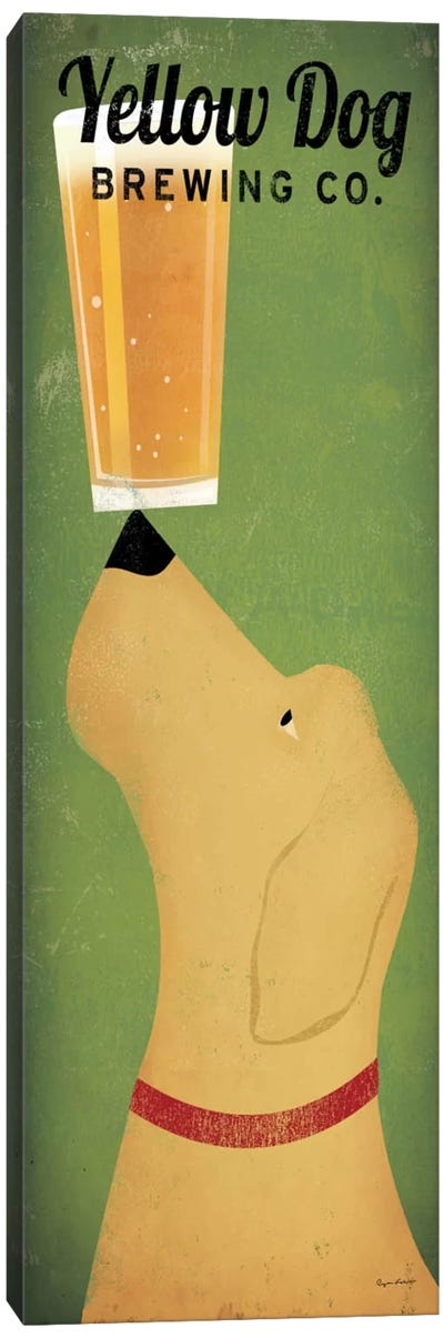 Yellow Dog Brewing Co. Canvas Art Print