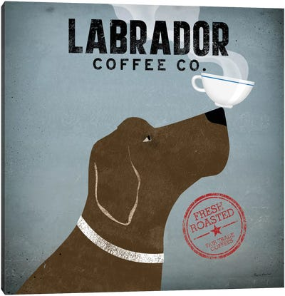 Labrador Coffee Co. Canvas Art Print