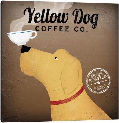Yellow Dog Coffee Co. Canvas Print #WAC1122