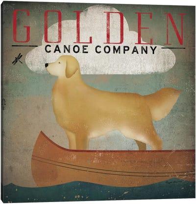 Golden Canoe Co.  Canvas Print #WAC1124