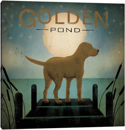 Golden Pond Canvas Art Print
