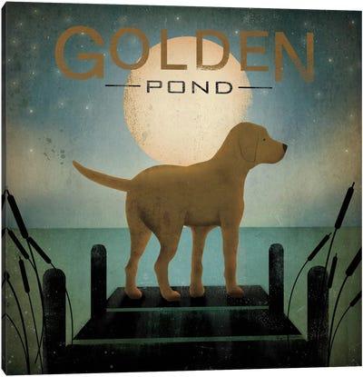 Golden Pond Canvas Print #WAC1126