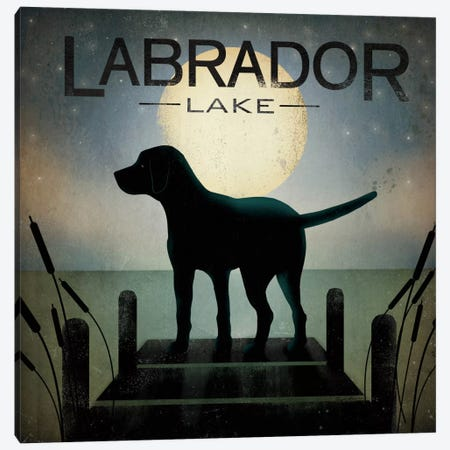 Labrador Lake Canvas Print #WAC1127} by Ryan Fowler Canvas Print