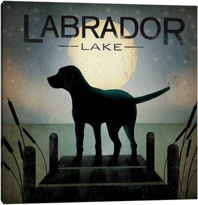 Labrador Lake Canvas Art Print