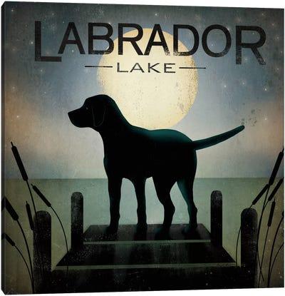 Labrador Lake Canvas Art Print