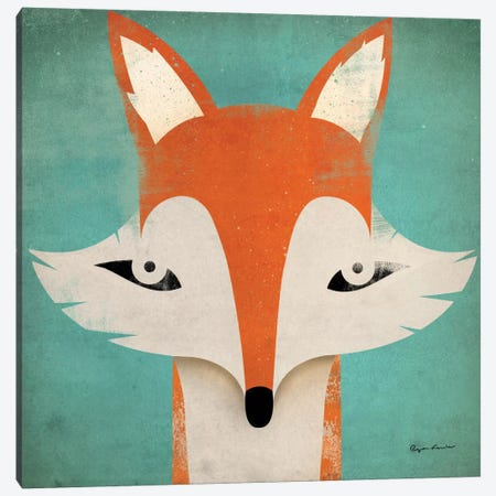 Fox  Canvas Print #WAC1128} by Ryan Fowler Canvas Wall Art