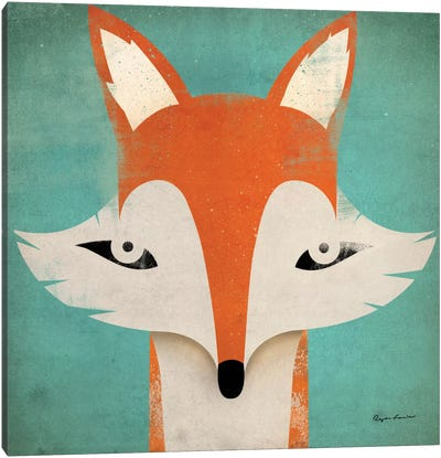 Fox  Canvas Print #WAC1128