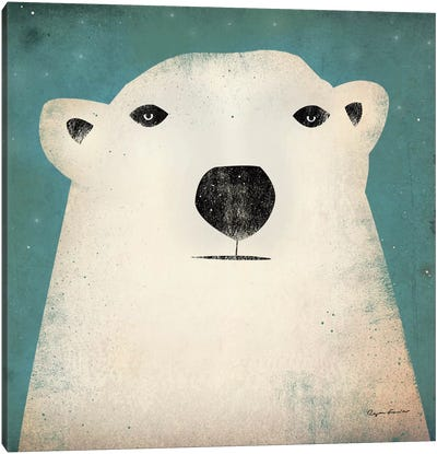 Polar Bear  Canvas Print #WAC1129