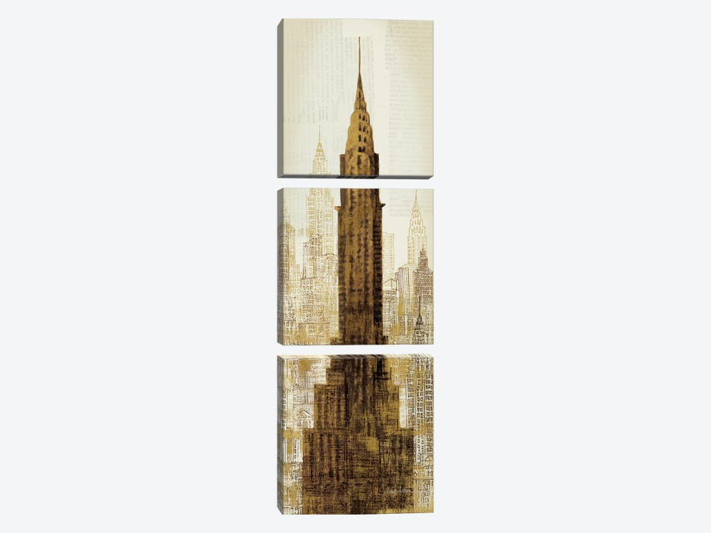 Lexington at 42nd by Avery Tillmon 3-piece Canvas Artwork