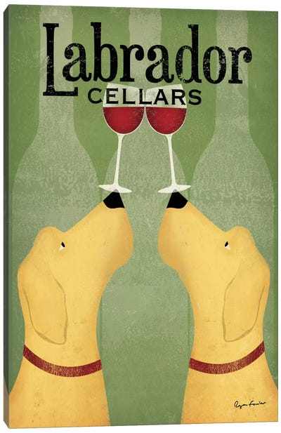 Labrador Cellars Canvas Art Print