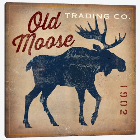 Old Moose Trading Co. Canvas Print #WAC1134} by Ryan Fowler Canvas Artwork