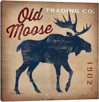 Old Moose Trading Co. Canvas Print #WAC1134