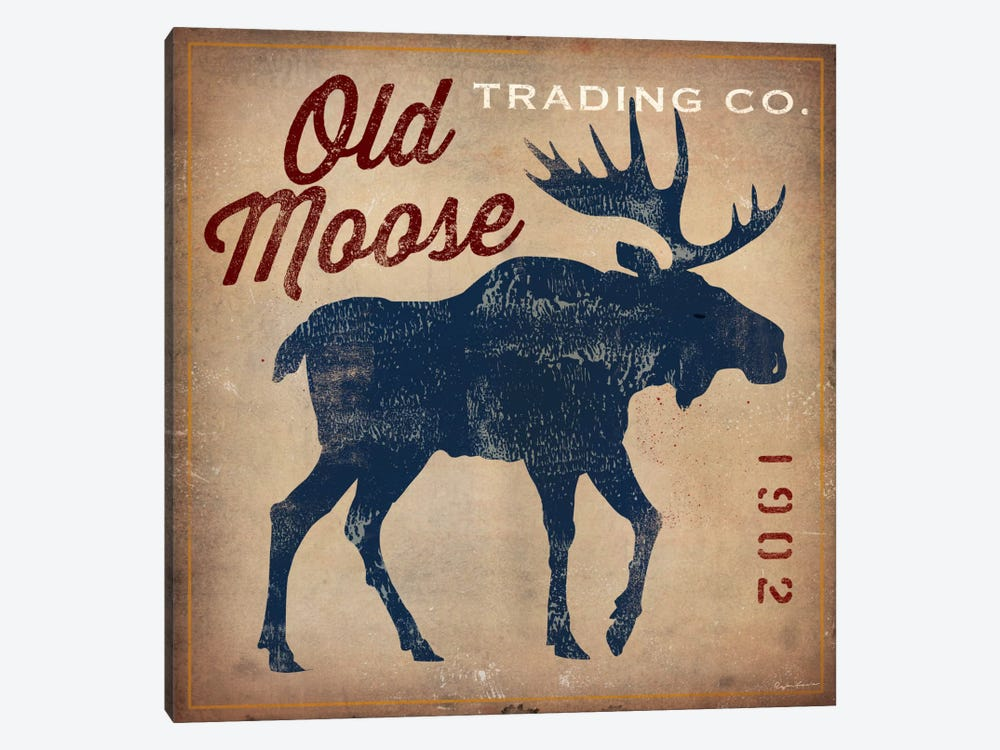 Old Moose Trading Co. by Ryan Fowler 1-piece Canvas Wall Art