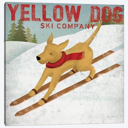 Yellow Dog Ski Co. Canvas Print #WAC1137} by Ryan Fowler Canvas Artwork