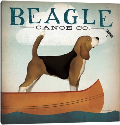 Beagle Canoe Co. Canvas Art Print