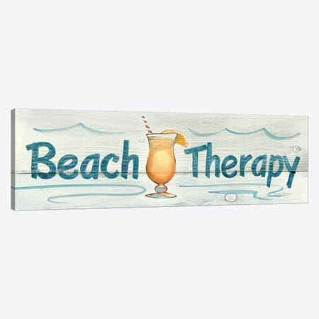 Beach Therapy in Color Canvas Print #WAC113} by Avery Tillmon Canvas Art