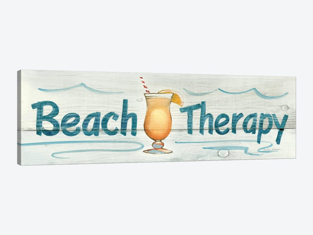 Beach Therapy in Color by Avery Tillmon 1-piece Canvas Print
