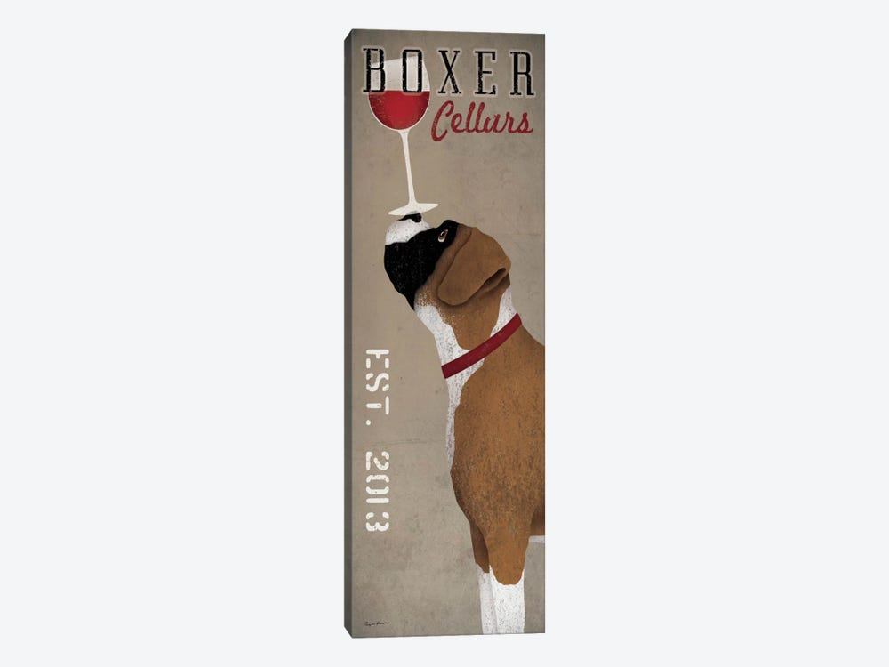Boxer Cellars  by Ryan Fowler 1-piece Canvas Print