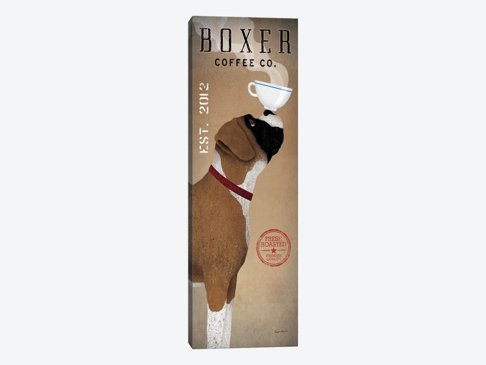 Boxer Coffee Co. by Ryan Fowler 1-piece Canvas Art