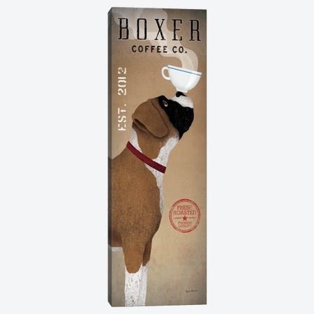 Boxer Coffee Co. Canvas Print #WAC1145} by Ryan Fowler Canvas Print