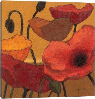 Poppy Curry II Canvas Art Print