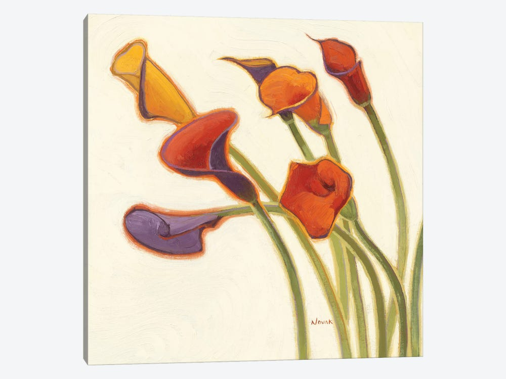 Callas in the Wind II by Shirley Novak 1-piece Canvas Wall Art
