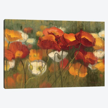 The Power of Red II Canvas Print #WAC1170} by Shirley Novak Art Print