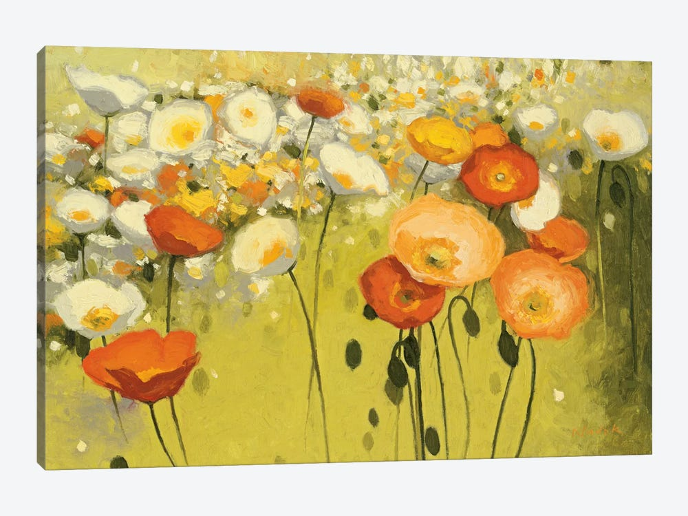 Spring Confetti 1-piece Canvas Art Print