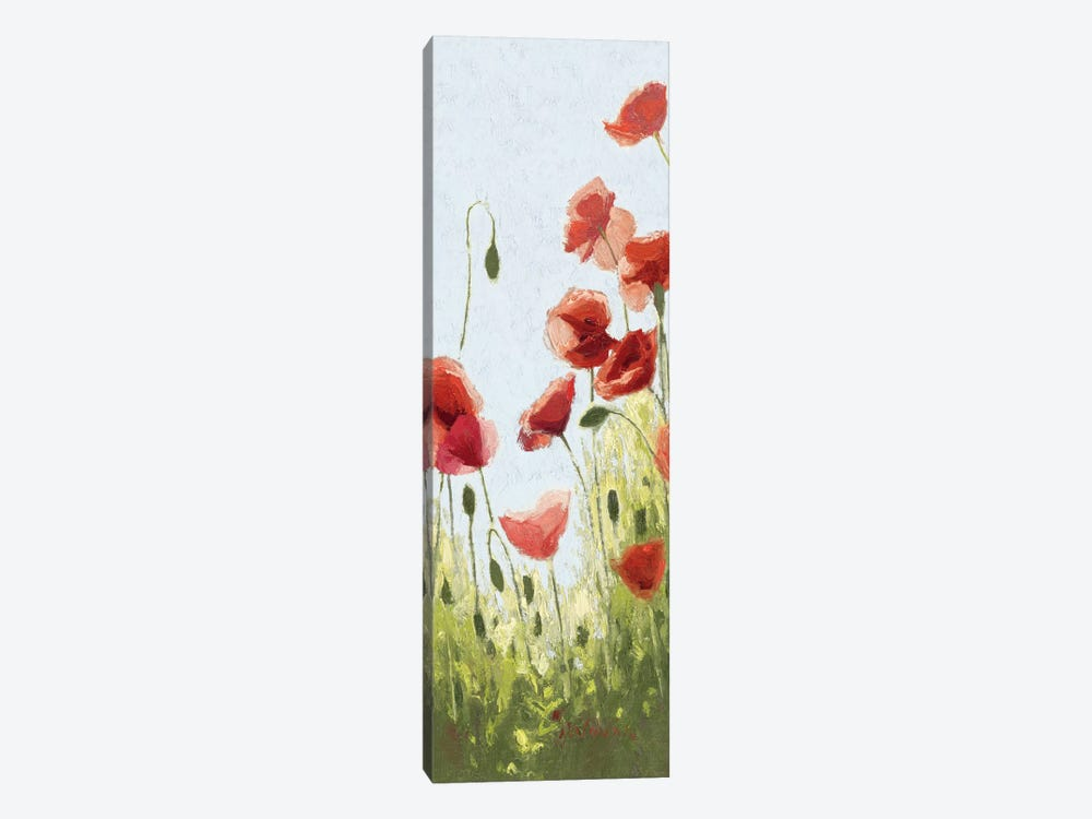 Mountain Poppies II by Shirley Novak 1-piece Canvas Art