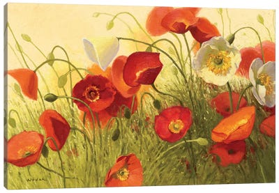Havin a Heat Wave Canvas Art Print