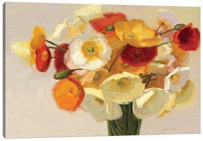 November Poppies  Canvas Print #WAC1198