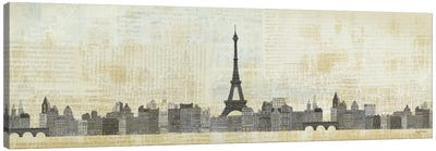 Eiffel Skyline Canvas Art Print